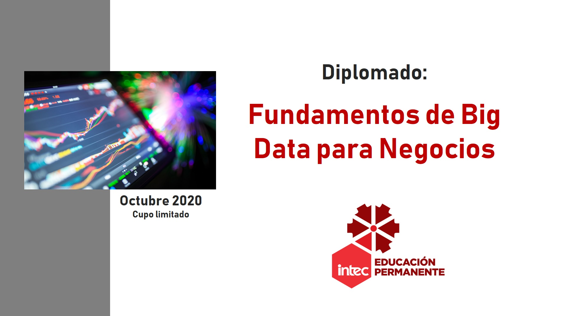 Diplomado en Fundamentos de Big Data para Negocios