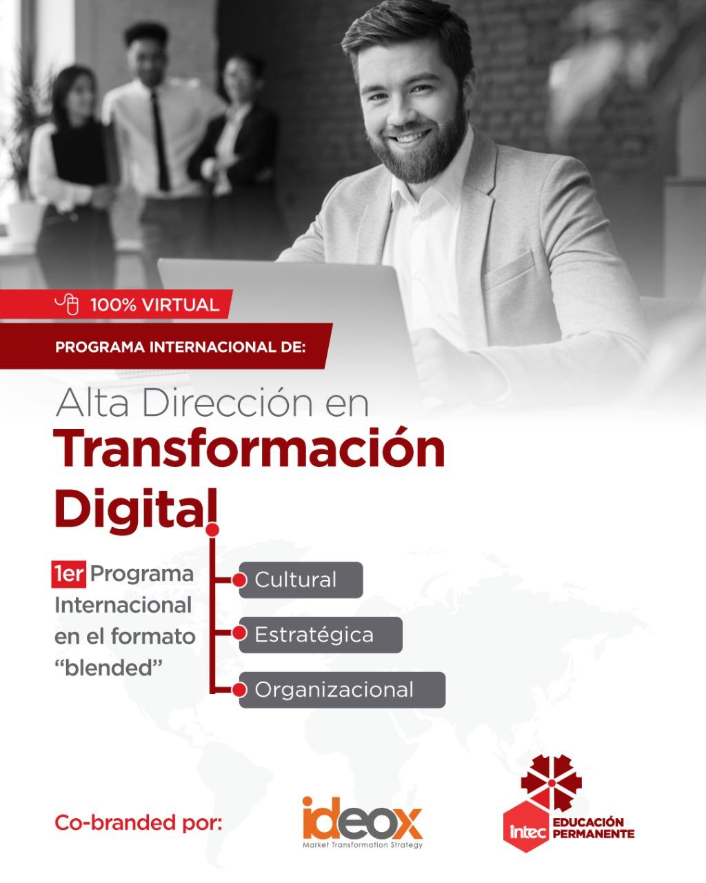 Programa Internacional en Alta Transformación digital